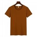高檔圓領廣告衫T卹印圖印字 5