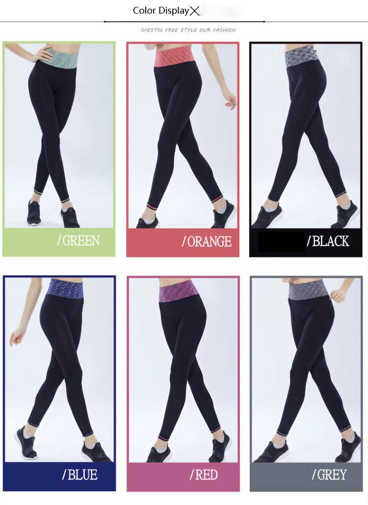 Womens Yoga Pants High Waist Tight Workout for Fitness 4