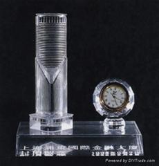 南京水晶工藝禮品水晶台座