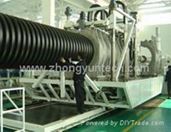 PE plastic pipe machines(50-1200mm)