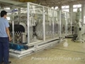 PE double wall corrugated pipe extrusion machinery