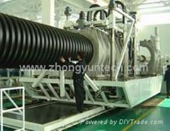 pe雙壁波紋管生產設備