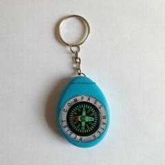 钥匙扣指南针