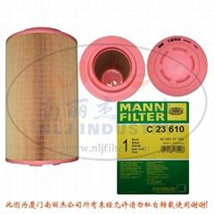 MANN 曼牌 空气过滤器滤芯 C23610