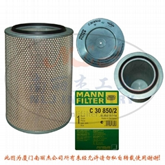 MANN-FILTER C30850/2  Air Filter Element