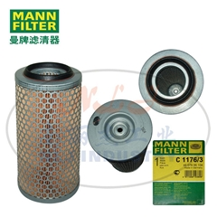 MANN-FILTER(曼牌滤清器)空气滤清器C1176/3