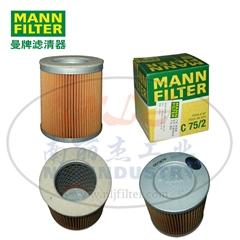 MANN-FILTER(曼牌濾清器)空濾C75/2