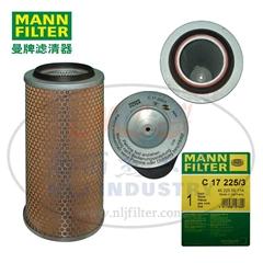 MANN-FILTER(曼牌濾清器)空濾C17225/3
