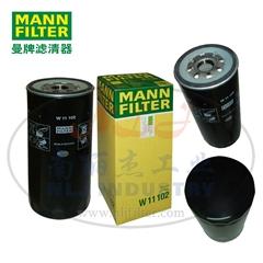 MANN-FILTER(曼牌濾清器)油濾W11102