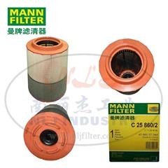 MANN-FILTER(曼牌濾清器)空濾C25860/2