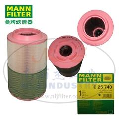 MANN-FILTER(曼牌濾清器)空濾C25740