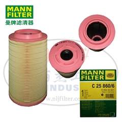 MANN-FILTER(曼牌濾清器)空濾C25860/6
