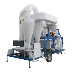 seed cleaning and processing machine