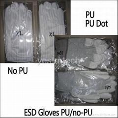 anti static ESD gloves pu