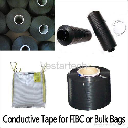 Semi-conductive Tape for FIBC or Bulk Bags 1