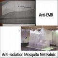 anti EMR radiation mosquito net fabric