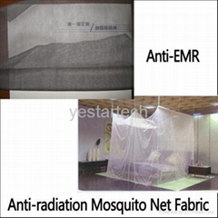 anti EMR radiation mosquito net fabric