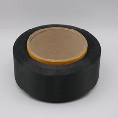 conductive carbon inside black PL fiber filaments 20D/4F for Anti-Static-XTAA192