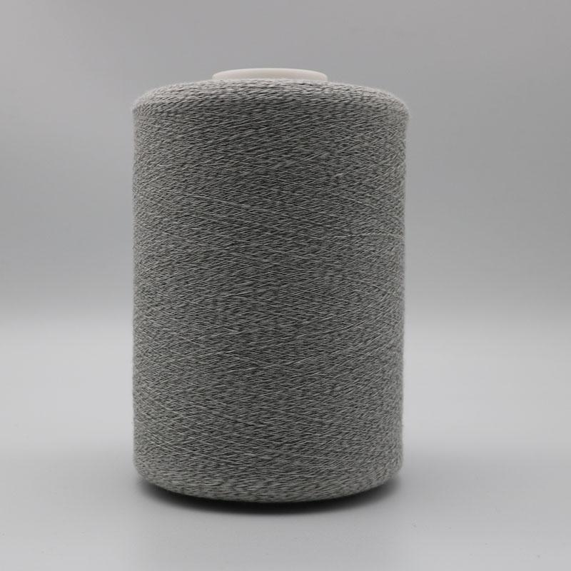 Conductive ESD carbon filament 20D twist with Ne40/1ply 65% PL 35% cottonXT11211 1