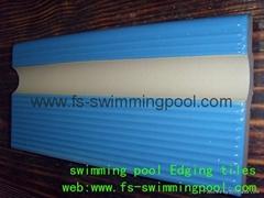 藍色泳池磚