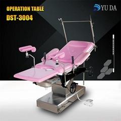 山東育達廠家專業生產 電動昇降機械操作式婦科綜合手朮台DST-3004