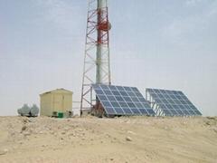 -48V通信基站室外一体化光电互补混合发电系统