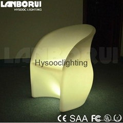 LED light chair Multi color changing LED chair
