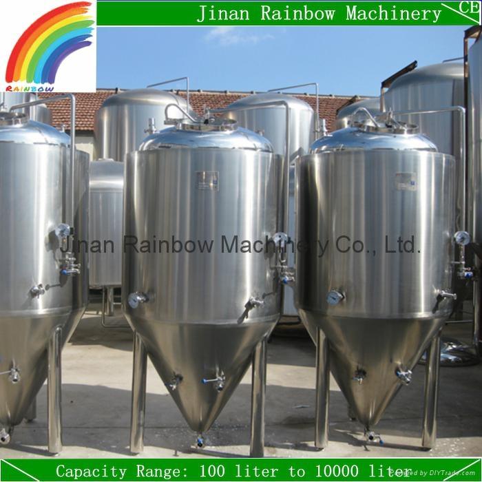 500L Beer Fermentation Tank/Cooling Jacket Beer Fermenter