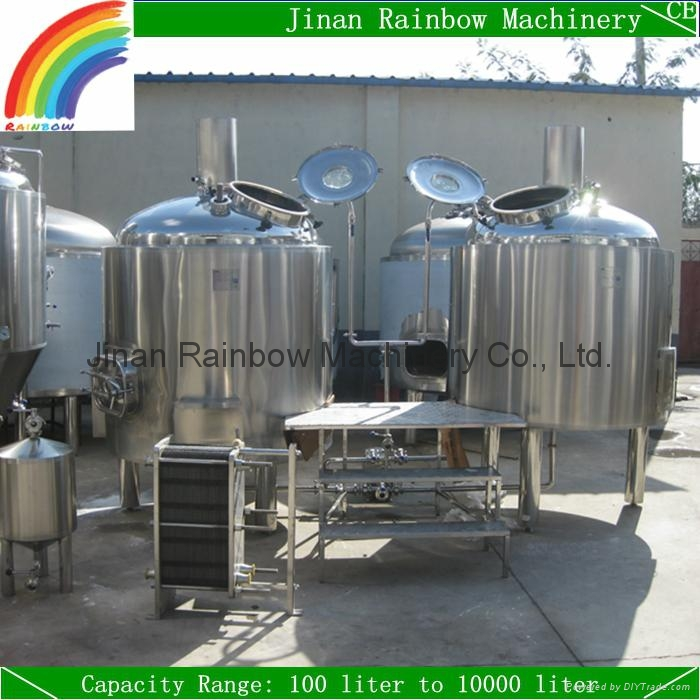Craft Brewery Equipment 500l Beer Prodiction Line Small