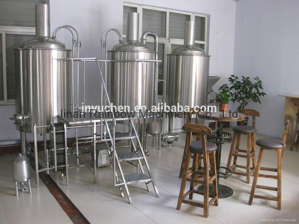 100L Small beer brewing equipment/brewing equipment 1