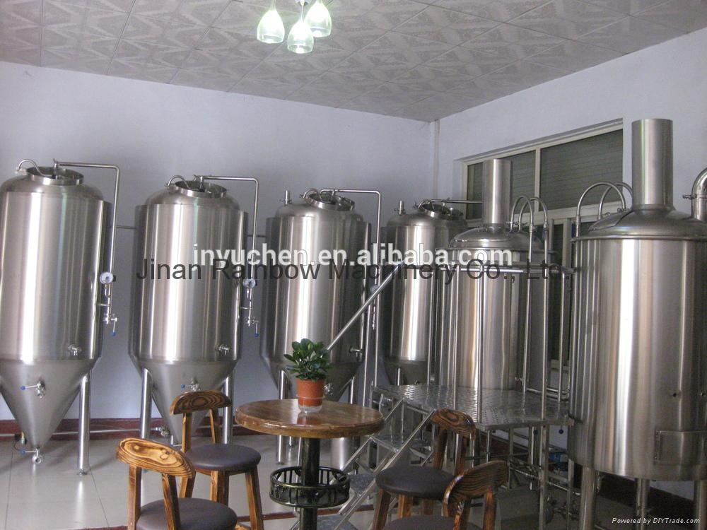 300L Restaurant beer brewing system/brewery equipment 2
