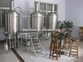 300L Restaurant beer brewing system/brewery equipment 3