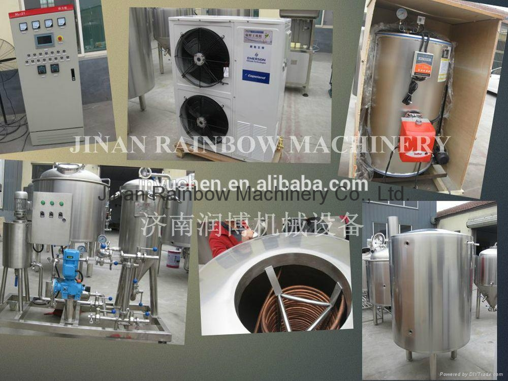 300L Restaurant beer brewing system/brewery equipment 4