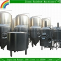 2000L stainless steel conical beer fermentor tank
