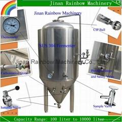 stainless steel 1bbl fermenter / beer fermenting tank for sale