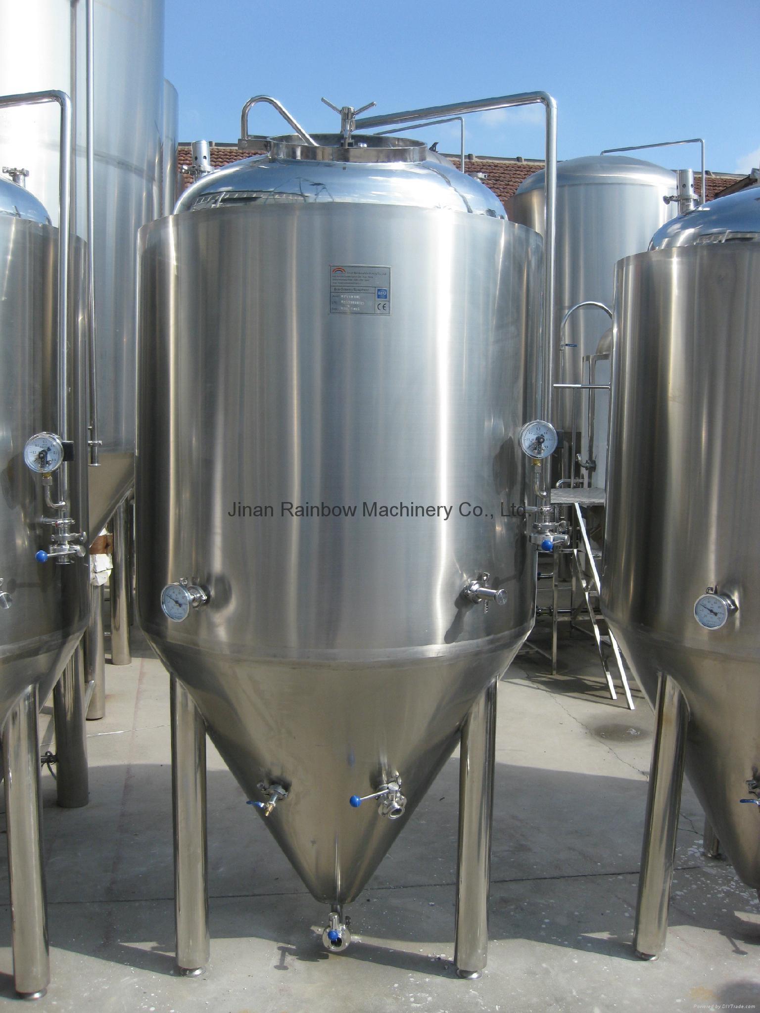 Stainless steel 304  500L beer fermenter, fermentation tank