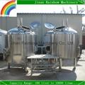 2000L mini beer brewery / beer brewing equipment factory