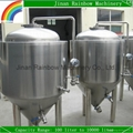 stainless steel 250l beer cooling water jacket conical fermenter 1