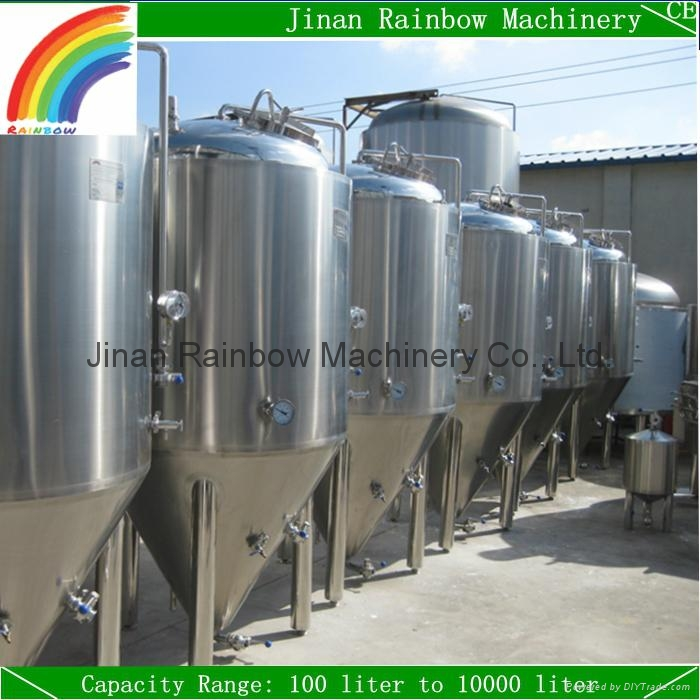 1200L brewing fermenter / stainless steel beer fermentation tank