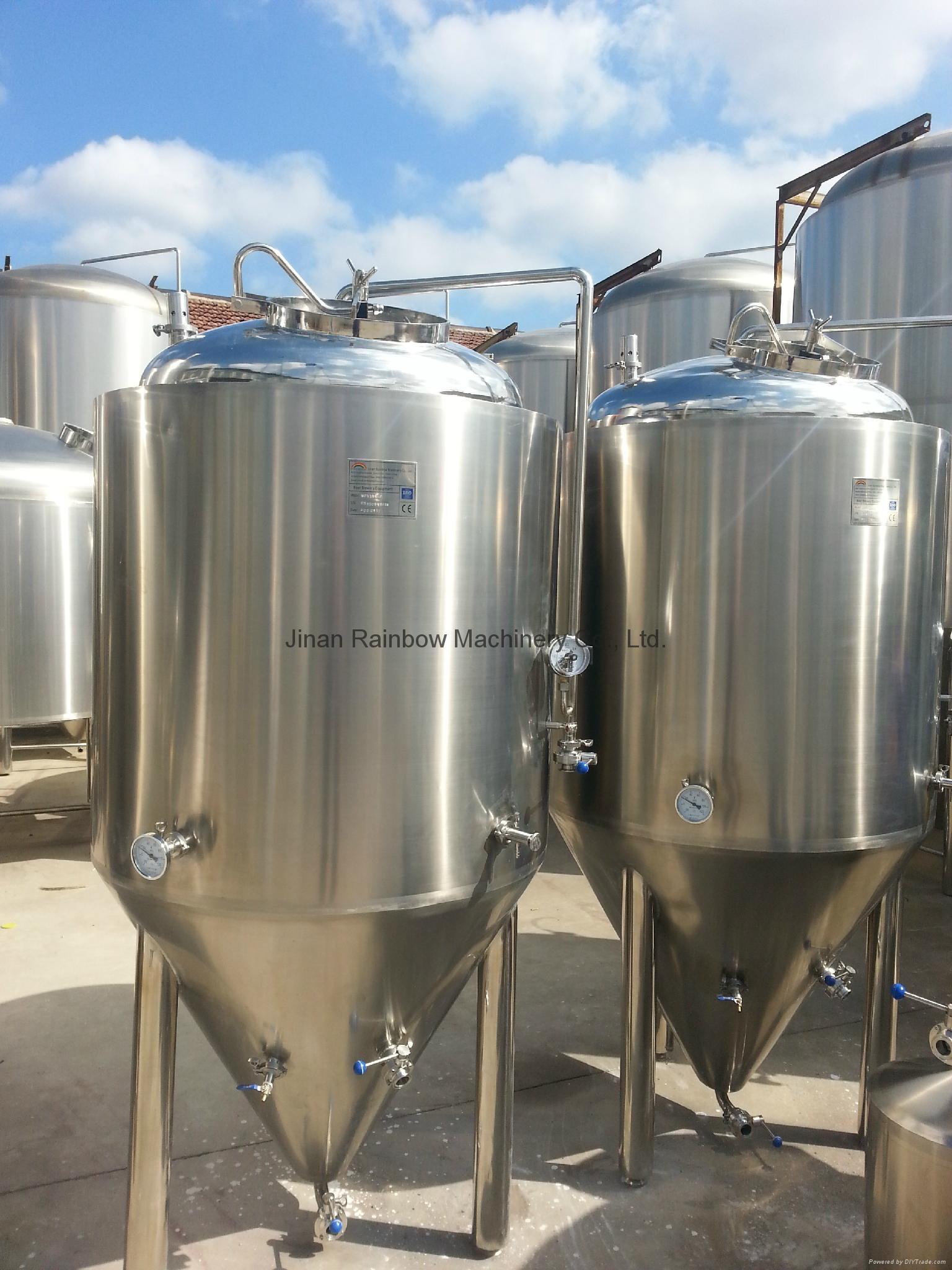 400L Beer brewing equipment factory 3