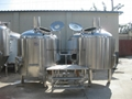 400L Beer brewing equipment factory