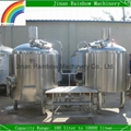 500L Draft Beer Making Machine / Small Beer Production Line