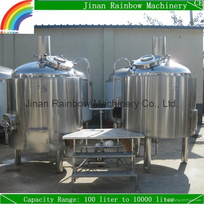 500 liter beer plant / mini beer brewing equipment