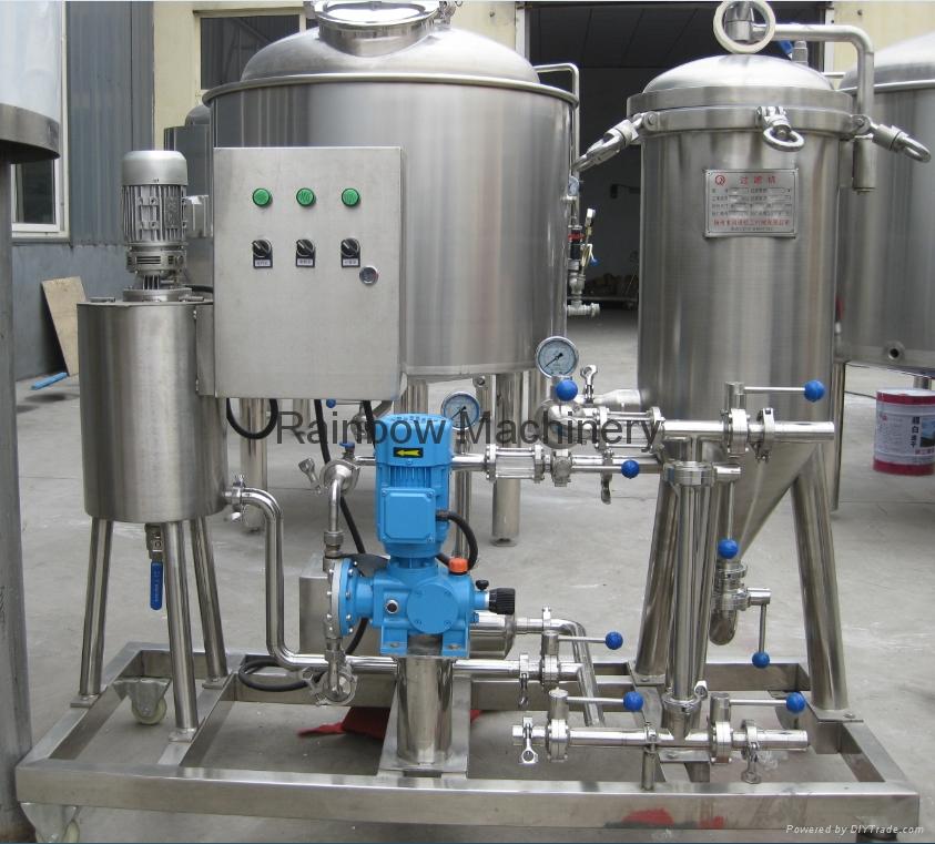 Beer Kieselguhr Filter Machine Up To Machine Rainbow