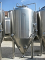 Conical fermentation tank , pilot beer fermenter