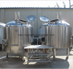 1000L, 2000L industrial beer machinery equipment