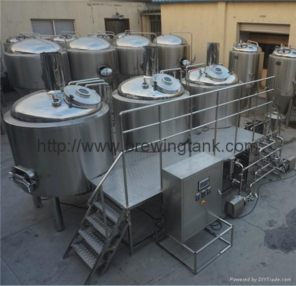 10 barrels micro brewing equipment, brewery machine