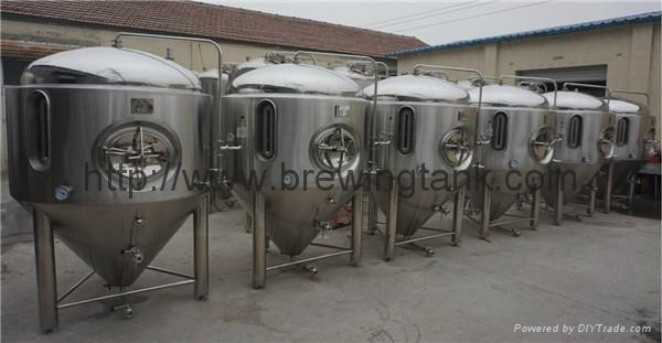 1500L Glycol jacketed beer fermentation tank, fermenting vessels