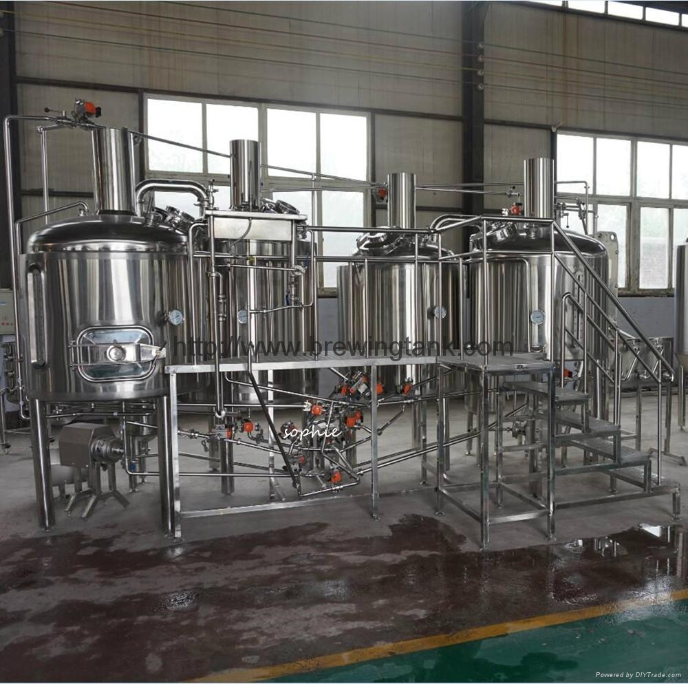 500liters micro brewery equipment, beer production plant