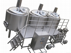 JINAN RAINBOW MACHNERY 1000L per pacth beer brewing equipment